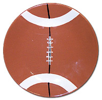 Football patterns to paint lena patterns for Creative pottery painting ideas